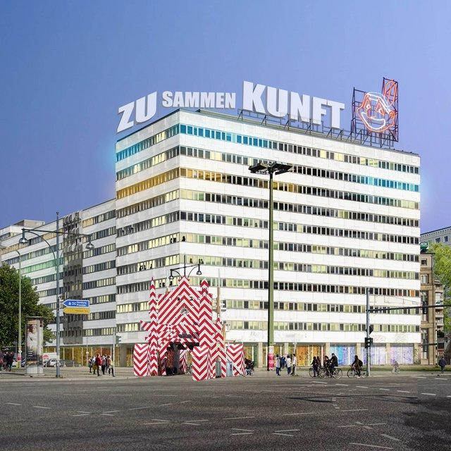 Haus Der Statistik: Center For Art And Urbanistics
